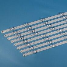 טלוויזיה תאורה אחורית רצועת עבור LG 42LB650V 42LB6500 LED רצועות ערכת תאורה אחורית ברים עבור 42LB650V ZE 42LB6500 UM 42LB650V ZA ZN מנורות להקות