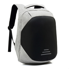 15 inch Laptop Backpack USB Charging Anti Theft Backpack Men Travel Backpack Waterproof School Bag Male gray men s backpack with usb interface black laptop backpack zipper classic male blue travel school bag anti theft backpacks