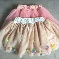 Nuevo 2017 muchachas del verano del bebé del tutú faldas faldas de la princesa niños velo de color suave encantadora bolas kids Balón vestido faldas
