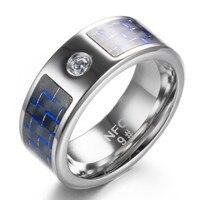 스마트 링 착용 R3 R3F Timer2 블루 탄소 섬유 기술 티타늄 매직 손가락 NFC 링 안드로이드 윈도우 모바일 전화
