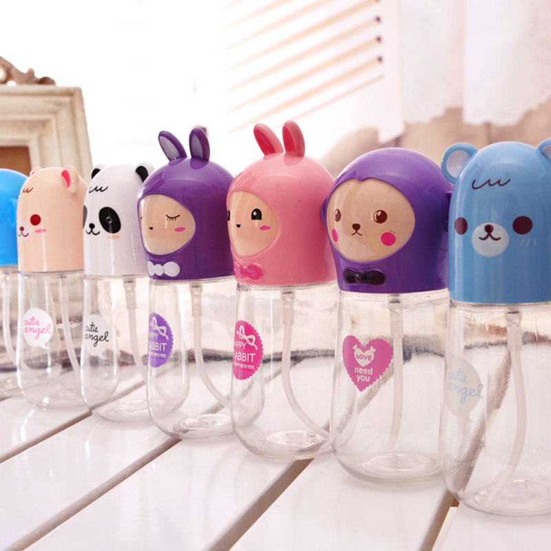 1PCS silly baby receive bottle 75ml Travel Refillable Mini Portable Perfume Atomizer  Spray Bottle Makeup fluid storage Tools