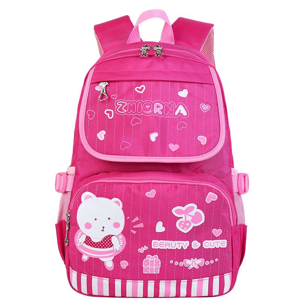 Дети мультфильм школьные сумки детские рюкзаки Водонепроницаемый Нейлон девушки школьная ...