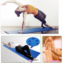 Genuine non slip yoga mat thickening yoga mat body building Yoga Mat Bag