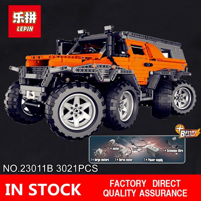 H & HXY En-Stock 23011B 2816 pcs Nouvelle Série Hors route véhicule Modèle 23011B Éducatifs Kits de Construction bloc Briques Jouets lepin Cadeaux