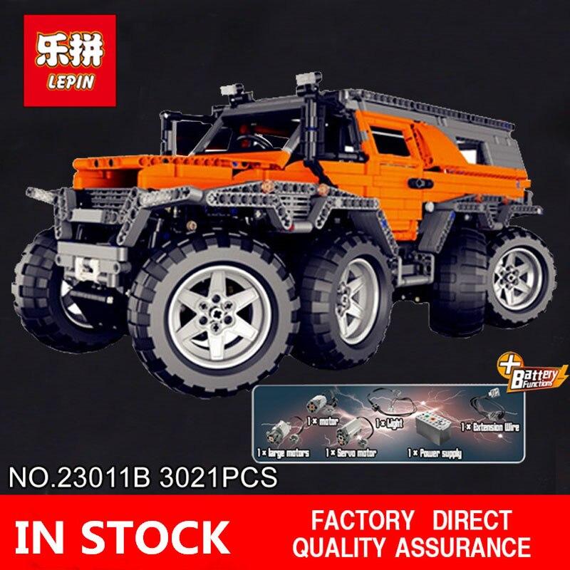 H & HXY In-Stock 23011B 2816 pz Nuova Serie Off-road Modello di veicolo 23011B Educativi Kit di Costruzione giocattoli dei Mattoni del blocchetto lepin Regali