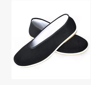 New Chinese font b Shoes b font Flats Men Black font b Boat b font font