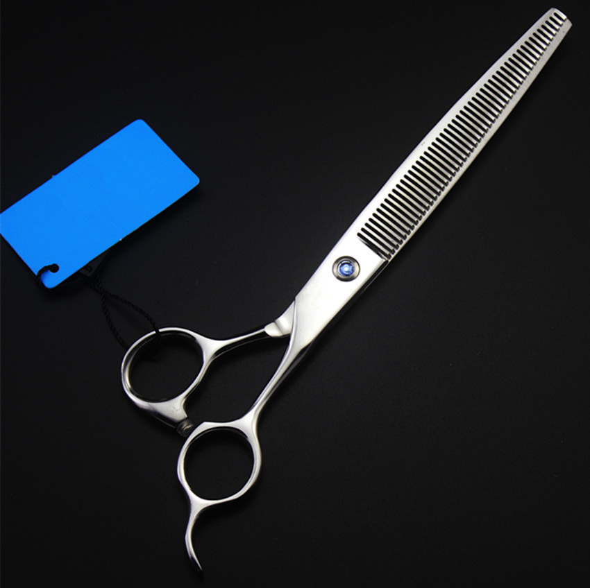 Professional Japan 440c 7.5'' Pet Hair Scissors Dog Grooming Scissor Shears Thinning Barber Hair Clipper Hairdressing Scissors