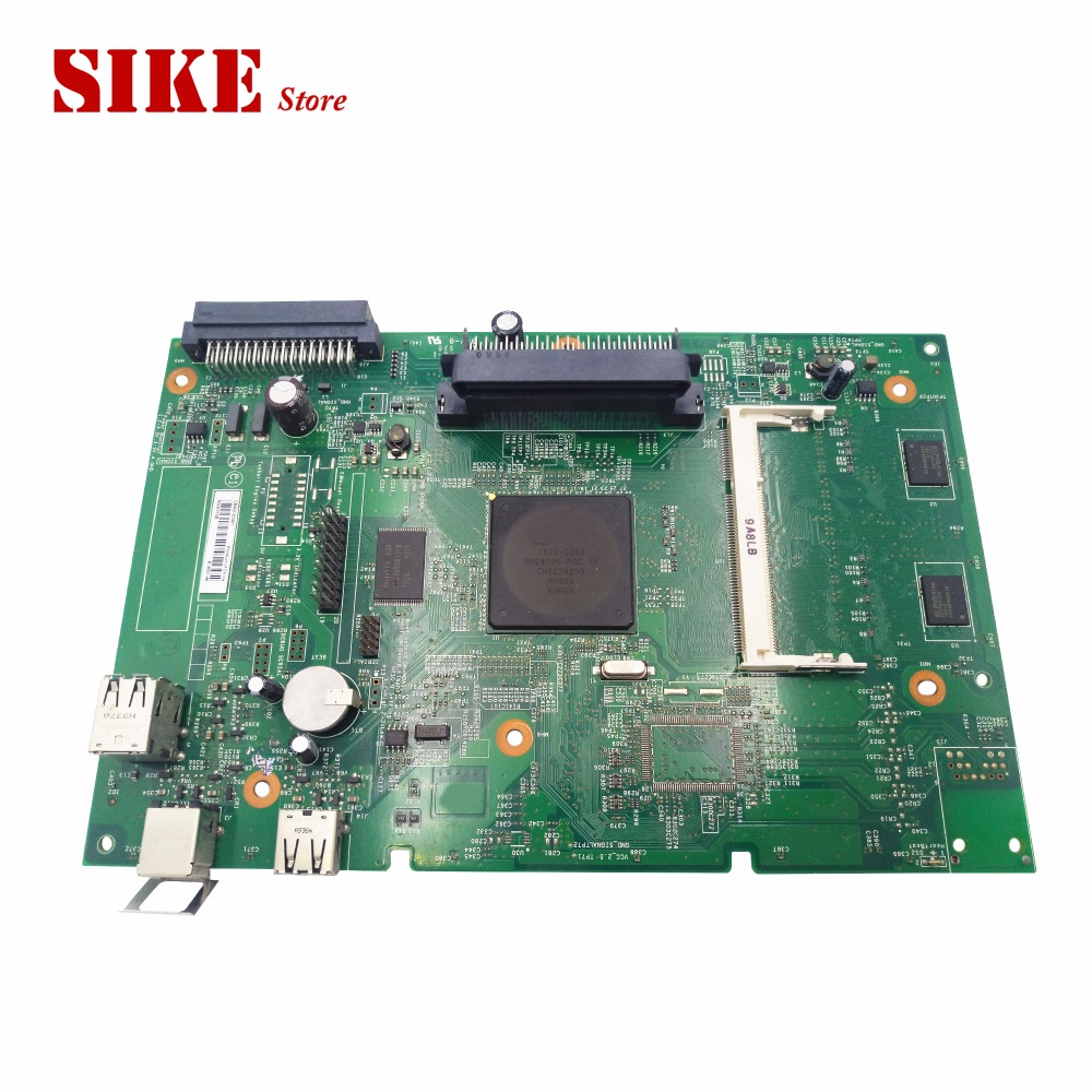 Logic Main Board Use For HP LaserJet P4014 4014 HP4014 Formatter Board CB437-60001 Mainboard brand new printer spare parts logic board laserjet for hp175nw 175n 175a formatter board main board