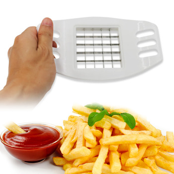 Stainless Steel Multi-function French Fry Cutters Manual Potato Slicer Cutter Shredder Kitchen Cutting Tools