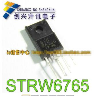 1pcs/lot STR-W6765 STRW6765 W6765 Quasi-Resonant Topology Primary Switching Regulators IC TO220F