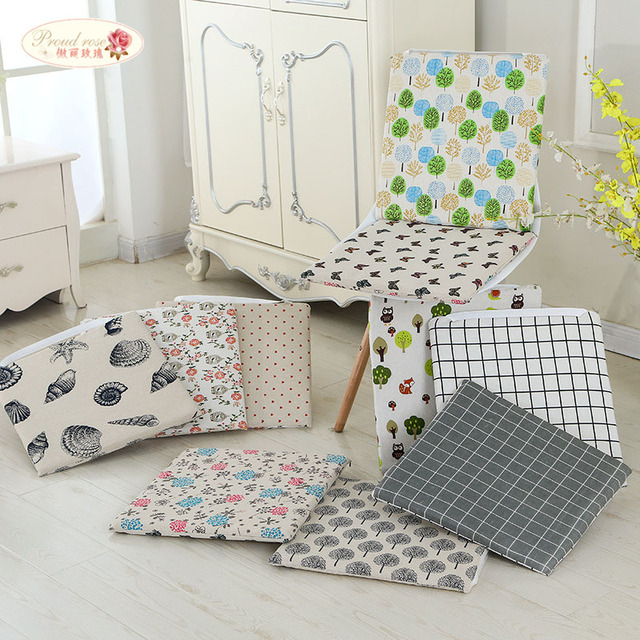 thick chair cushions bench table stool proud rose linen seat cushion double sided available winter hotel office