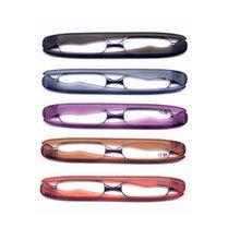 SlimTR90 вращения Пластик Frame Для мужчин очки для чтения Для женщин складные очки диоптрий 1,5 дальнозоркостью очки лупы с Чехол