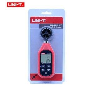 Image 5 - UNI T UT363BT Wind Meter Digitale Bluetooth Zakformaat Anemometer Meting Thermometer Mini Wind Meter Anemometer