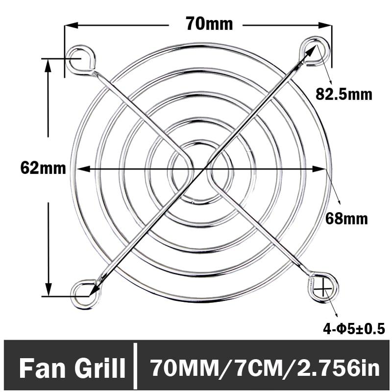 Red Wire Metal 92mm Fan Grill Guard /& Screws US SELLER