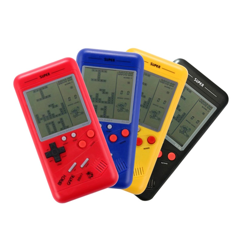 2018 Classic Tetris Game For children Students Nostalgia Puzzle Small Handheld Game Console Built-in Variety of Games