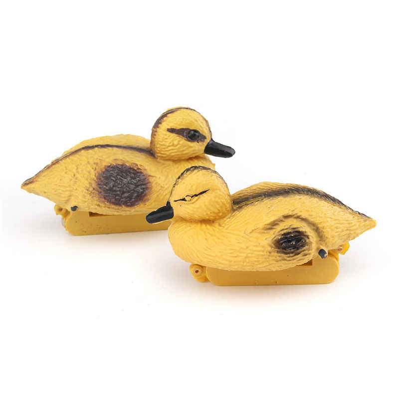 1 Pair Mini Floating Cute Ducks KiWarm Decoy Hunting Shooting mallard Deterrent Repeller Pond Pool Decor Home Ornaments