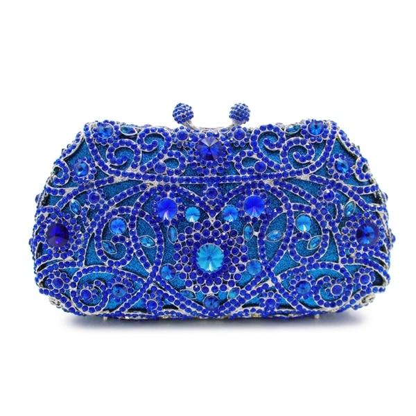 29ab180cc60 royal blue crystal box evening clutch bags rhinestone crystal clutch bag  ladies wedding bags (8651A-B2)