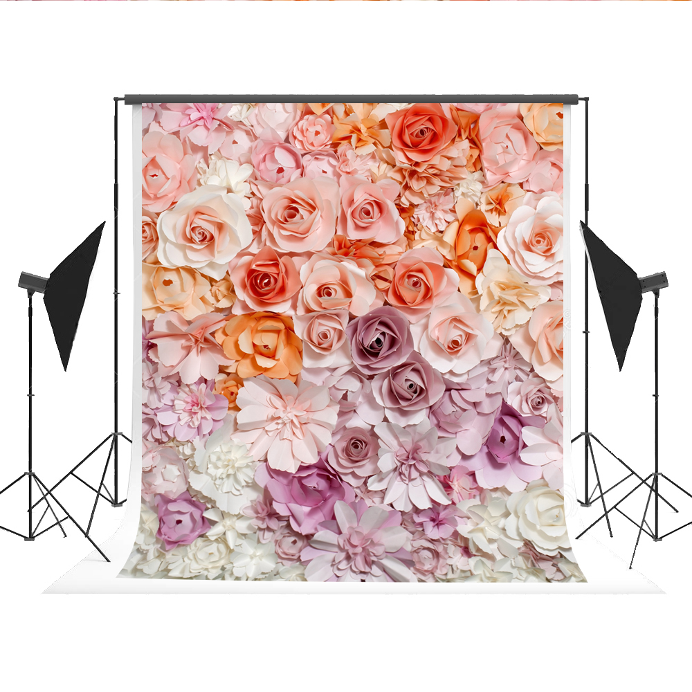 Wedding Photography Backdrop Flowers Romantic Photo Background Newborn Photocall Camera Fotografica for Professional Fond Studio ashanks photography backdrops white screen 3 6m photo wedding background for studio 10ft 19ft backdrop for camera fotografica