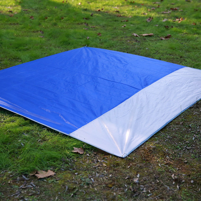 Blue Green Outdoor C&ing Tent Mat 2x2 Meters Oxford Cloth Waterproof Picnic Mats Climb Beach Blanket & Blue Green Outdoor Camping Tent Mat 2x2 Meters Oxford Cloth ...