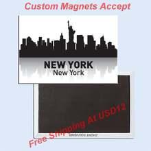 США путешествия строительный магнит 5698 Нью Йорк сувенир из