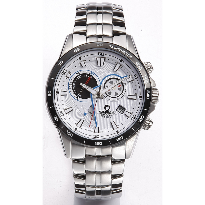 Luxury brand watches men 2016 fashion trends Multi-functional sport mens quartz wrist watch Waterproof CASIMA #8210 recent trends for solving fuzzy multi objective programming problems
