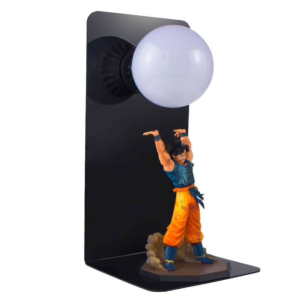 Dragon Ball Son Goku Spirit Bomb Table Lamp LED Night Lights
