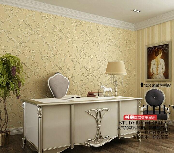 Livingroom wallpaper for walls 3D wall paper for bedroom 4 colors ...