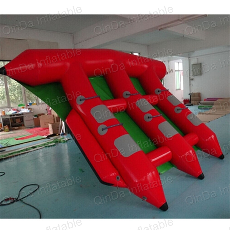 Inflatable sled boat inflatable water fly fish flying fish boat gun motorcycle inflable swimming animal modeling seat inflatable boat float boat water sports children mounts kids toy