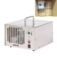 HIHAP 7G ozone generator air purifier with ozone adjuster from 3.5g-7.0g ozone output (4PCS/CTN) stainless steel