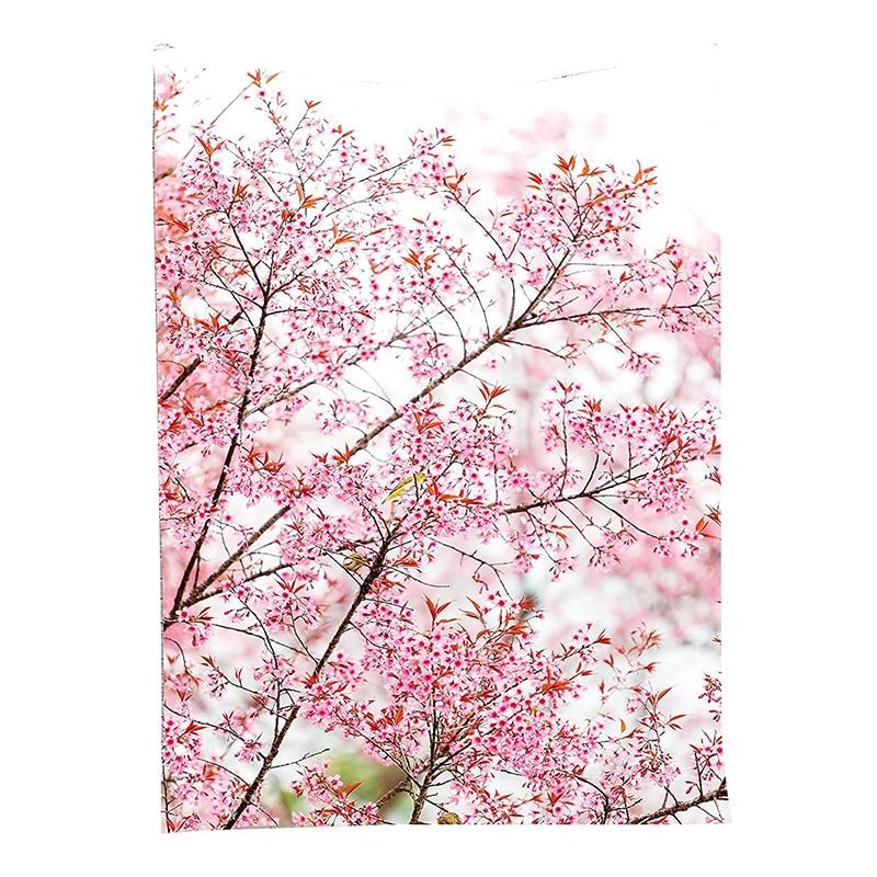 Сакура вишневые деревья Цветущий Весенний сад парк настенный гобелен