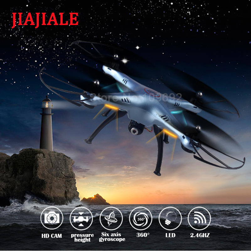 New Arrivals 2.4G 4CH SYMA X5HC RC Drone Helicopter Quadrocopter With Hold Altitude HD Camera Better than SYMA X5C X5SC X5HW