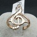 Бесплатная Доставка Italina Rigant Оптовая Роуз/белый позолоченные Австрийские Кристалл Кольца Мода Кольцо Примечание Подарок