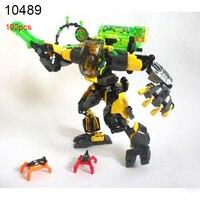 10489 Anh Hùng Nhà Máy 6 Sao Soldier Evo Xl Máy Robot Khối Xây Dựng TỰ LÀM Gạch Giáo Dục Đồ Chơi cho Trẻ Em Món Quà Tuyệt Vời