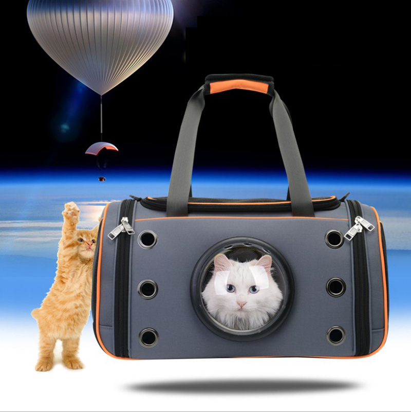 Space Capsule Pet Cat Dog Backpack Window for Kitty Puppy Small Cat Dog Carrier transport Outdoor Travel Bag