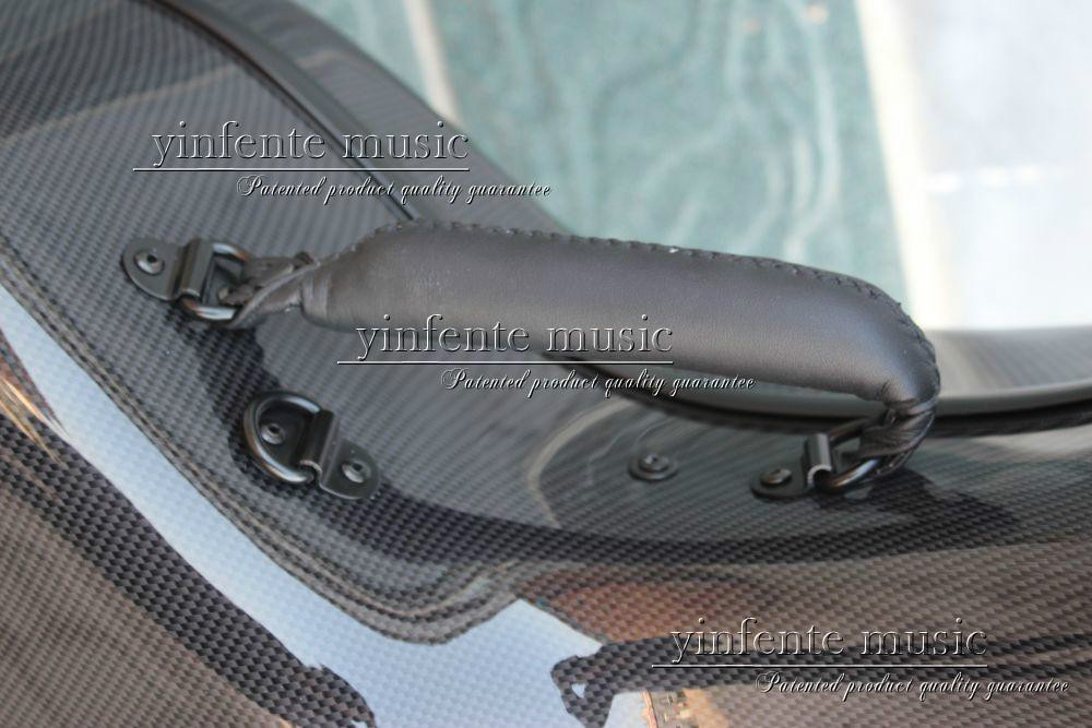 Neuer 4/4 Cellokoffer aus reiner Kohlefaser mit starkem Lichtrad - Musikinstrumente - Foto 1