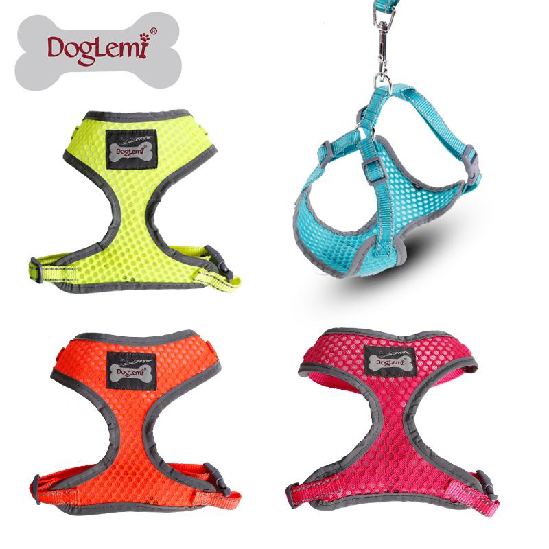 Free Shipping 4 Sizes And 4colours Small Dog Reflective