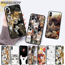WEBBEDEPP Cat Cute Mouse Pig Cats Silicone Case for Xiaomi MI 5X 6 6X 8 9 SE F1 A1 A2 Lite MAX 3