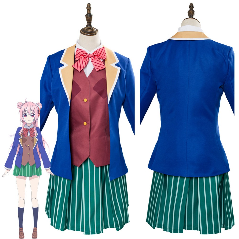 Anime Happy Sugar Life Satou Matsuzaka Cosplay Costume Japanese Style Halloween Carnival Costumes
