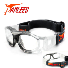 Promotion Brand Warranty! Kids Sports Glasses Prescription Sports Goggles Basketball Glasses with Flexible Strap Free Shipping