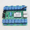 Network Relay Control Switch 16 Road Relay Remote Control P2P WIFI Module Mobile Phone Control