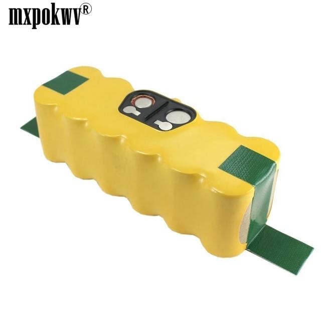 Nuevo paquete recargable de batería de Acuum batería de 14,4 V 3500 mAh NI-MH para iRobot Roomba serio 500 510 530 531 532 533, 535, 536, 540