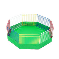 Foldable Exercise Pen Pet Playpen Small Animals Exercise Fence Barrier Playpens Hamster Gerbil Guinea Pig play area UYT Shop