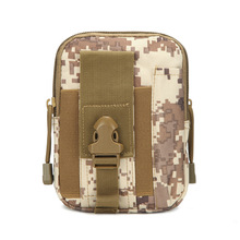 Купить с кэшбэком Men's Outdoor Camping Bags Tactical Molle Backpacks Pouch Belt Bag Military Waist Backpack Soft Sport Running Pouch Travel Bags