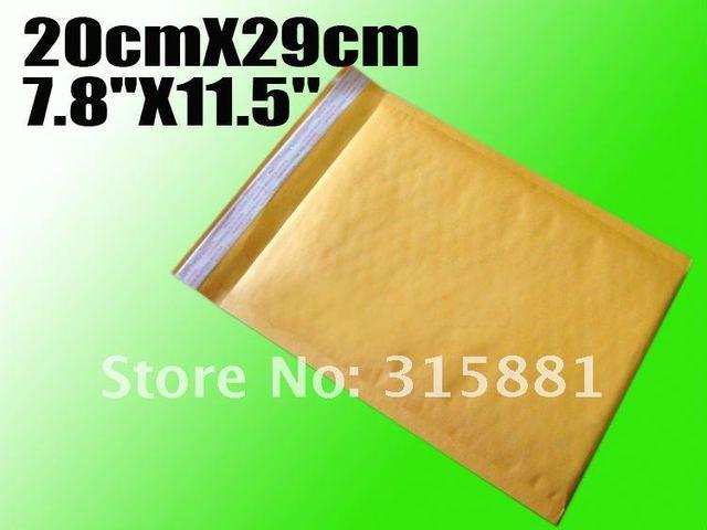 """Wholesale 7.8""""x11.5""""  20cmX29cm  bubble envelope padded envelopes paper envelope bubble mailer bag 50pcs/lot"""