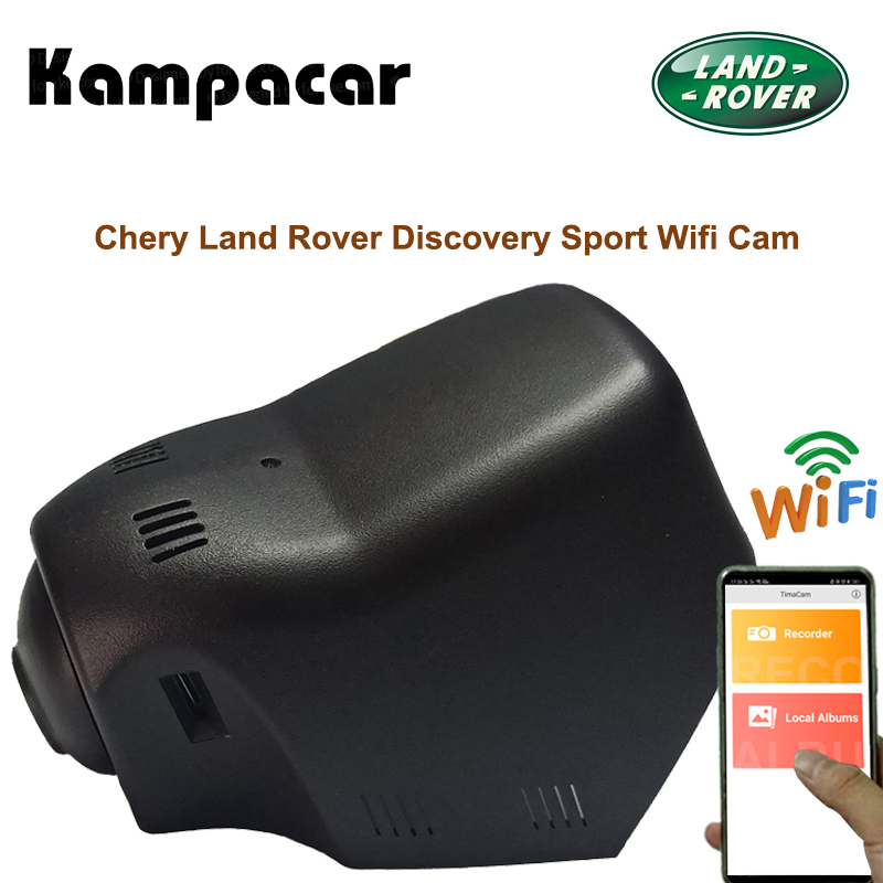 Kampacar HD Hidden Wifi Car Dvr Camera Video Recorder Two Lens Dual Dash Cam For Chery Land Rover Discovery Sport 2015 2016 2017