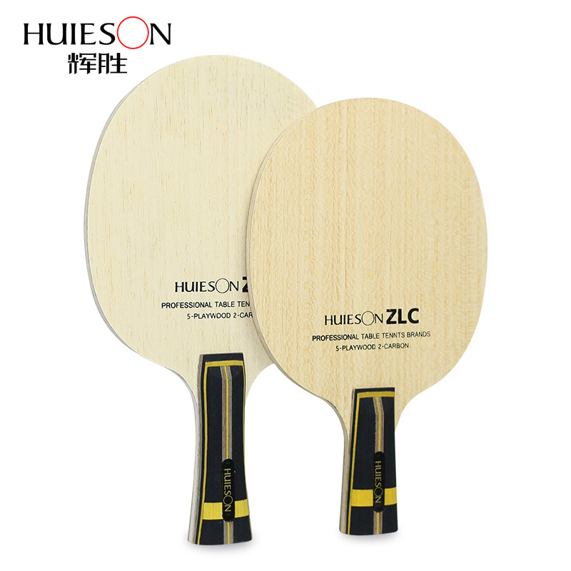 Huieson Professional Table Tennis Training Blade ZLC 5 Plywood 2 Ply ZL Carbon Fiber Ping Pong Blade For Table Tennis Racket DIY