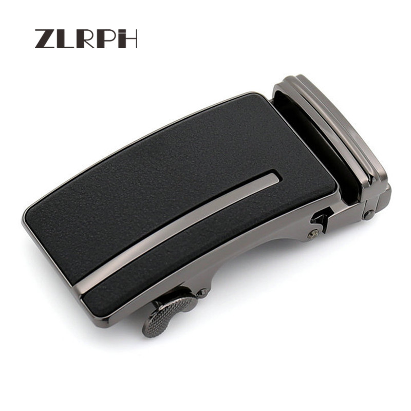 ZLRPH New Fashion Casual Simplicity Designer Belts For Men Buckle Ratchet Luxury Men Belt Automatic Wholesale