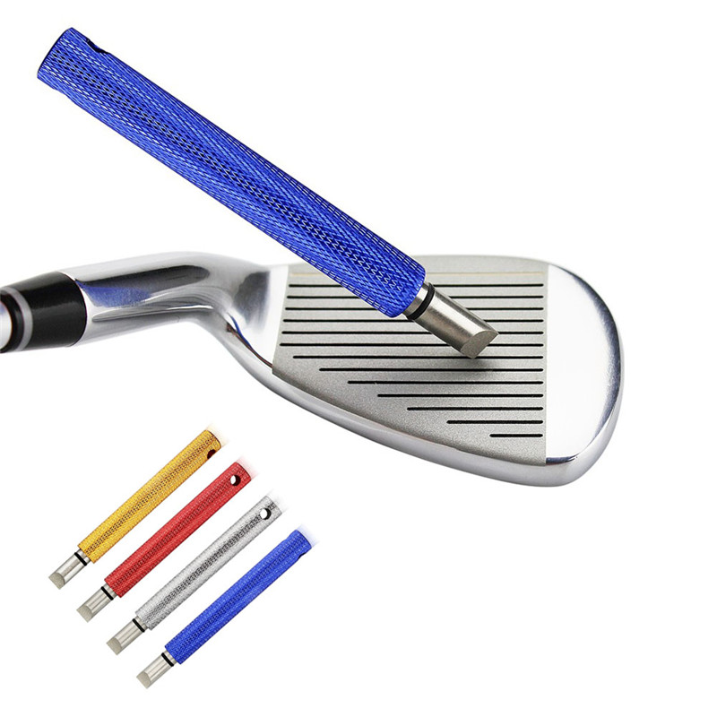 Multicolor Golf Club Grooves Sharpener Cleaner Golf Practical Tool Golf Cleaning Tool Durable Regrooving Sharpener