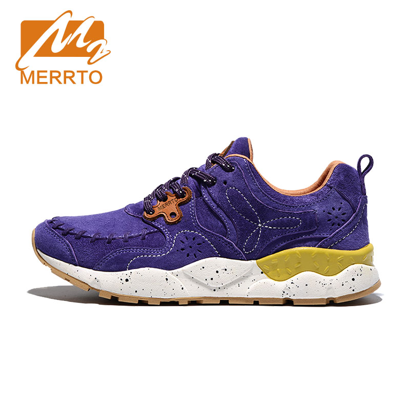MERRTO Women's outdoor Retro Breathable waliking Shoes anti-skid Lightweight Trainers wear-resistant damping camping Sneakers new hot sale children shoes comfortable breathable sneakers for boys anti skid sport running shoes wear resistant free shipping