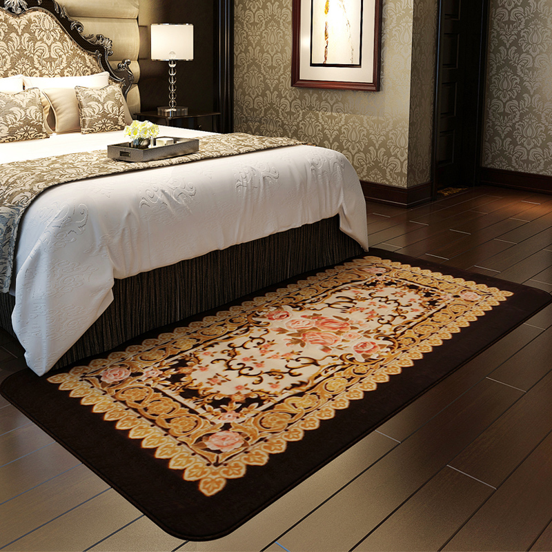 Luxury Honlaker European Pastoral Bedroom Bedside Carpet Living Room Table Sofa Long Rugs and Carpets in Carpet from Home & Garden on Aliexpress - Review rug for bedroom Top Search